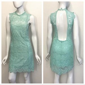 Intimately Free People Mint Daydream Lace Dress